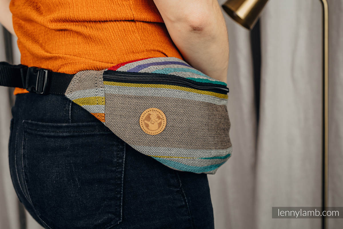 Waist Bag made of woven fabric, (100% cotton) - OASIS #babywearing