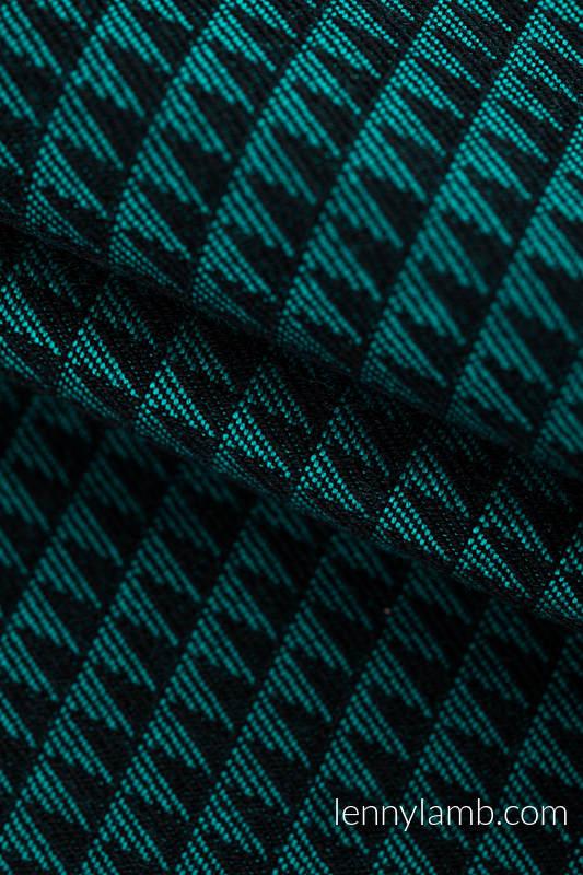 LennyGo Basic Line Ergonomic Mesh Carrier - JADE, Baby Size, tessera weave 100% cotton  #babywearing