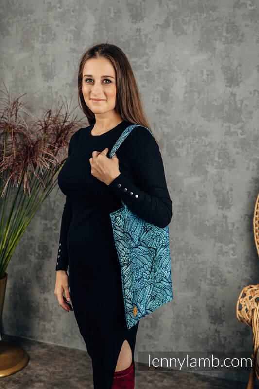 Shopping bag made of wrap fabric (100% cotton) - WILD SOUL - REBIRTH  #babywearing