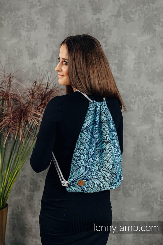 Plecak/worek, (100% bawełna) - WOLNY DUCH - REBIRTH - rozmiar uniwersalny 32cm x 43cm #babywearing