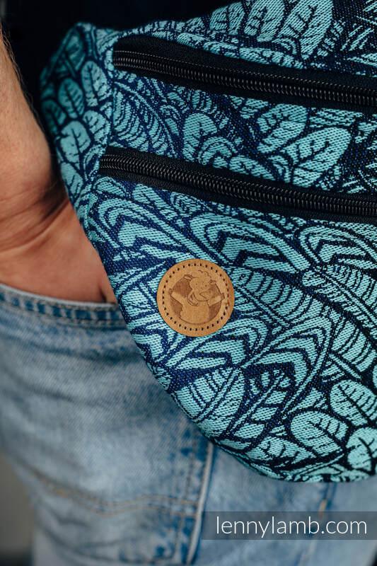 Waist Bag made of woven fabric, size large (100% cotton) - WILD SOUL - REBIRTH  #babywearing