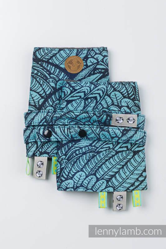 Drool Pads & Reach Straps Set, (60% cotton, 40% polyester) - WILD SOUL - REBIRTH  #babywearing