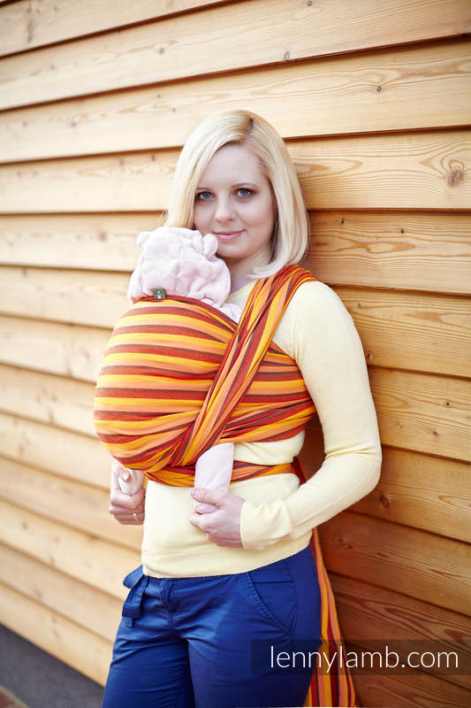 Baby Sling, Diamond Weave, 100% cotton - Surya Diamond - size XL (grade B) #babywearing