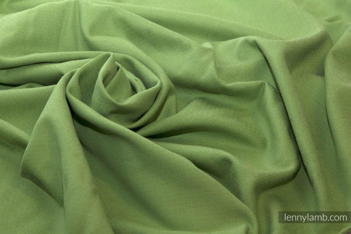 Baby Sling, Diamond Weave, 100% cotton - Green Diamond - size XL (grade B) #babywearing
