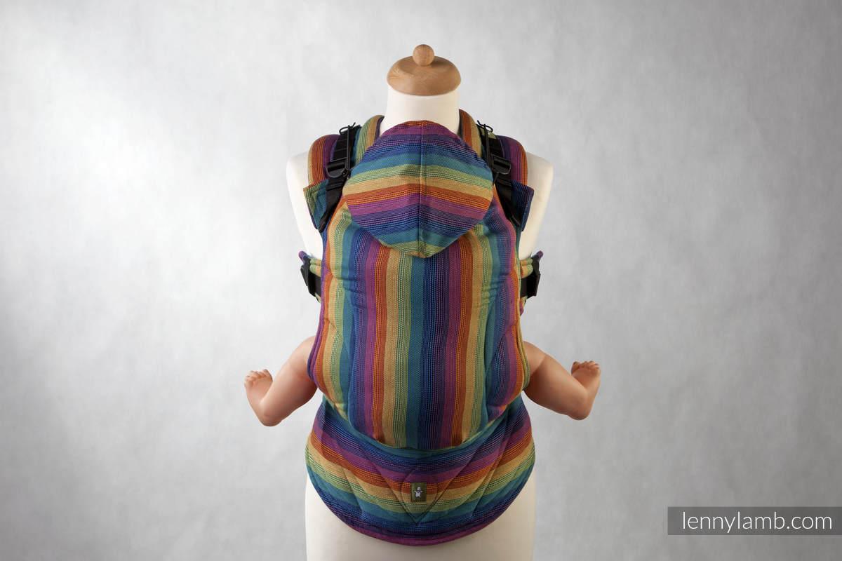 Nosidełko Ergonomiczne z tkaniny skośnokrzyżowej 100% bawełna, Baby Size, PARADISO BAWEŁNA - Druga Generacja #babywearing