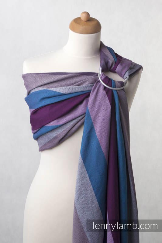 Ringsling, Diamond Weave (100% cotton) - Norwegian Diamond - long 2.1m (grade B) #babywearing