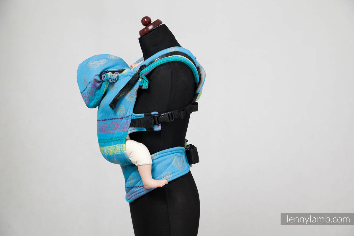 Ergonomic Carrier Baby Size Jacquard Weave 100 Cotton