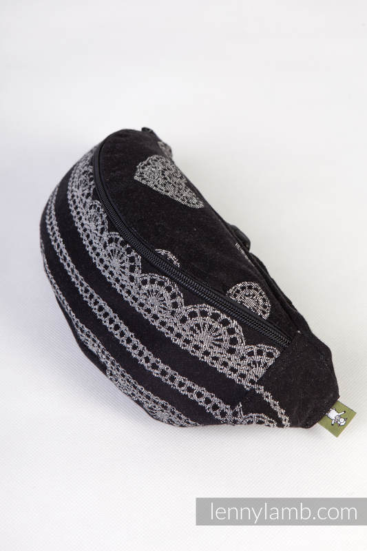 Waist Bag made of woven fabric, (100% cotton) - GLAMOROUS LACE #babywearing