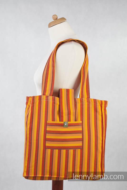 Shoulder bag made of wrap fabric (100% cotton) - DIAMOND SURY - standard size 37cmx37cm (grade B) #babywearing