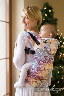 Nosidełko Ergonomiczne z tkaniny żakardowej 100% bawełna , Toddler Size, KOLORY ŻYCIA - Druga Generacja (drugi gatunek)