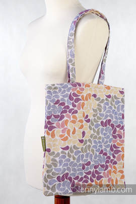 Shopping bag made of wrap fabric (100% cotton) - COLORS OF LIFE
