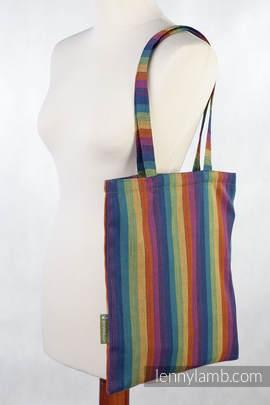 Shopping bag made of wrap fabric (60% cotton, 40% bamboo) - PARADISO
