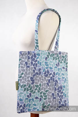 Shopping bag made of wrap fabric (100% cotton) - COLORS OF HEAVEN (grade B)