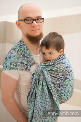 Ringsling, Jacquard Weave (100% cotton) - COLORS OF HEAVEN