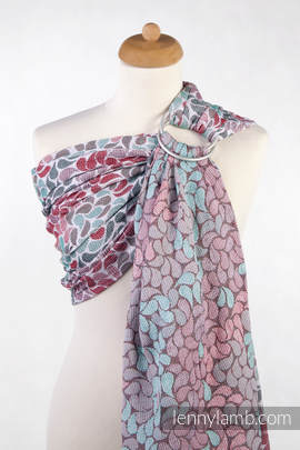 Ringsling, Jacquard Weave (100% cotton) - COLORS OF FRIENDSHIP