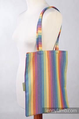 Shopping bag made of wrap fabric (100% cotton) - LUNA