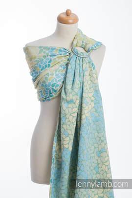 Ringsling, Jacquard Weave (100% cotton) - LEMONADE