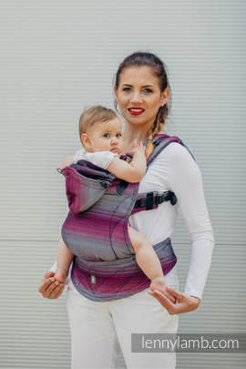Nosidełko Ergonomiczne , splot jodełkowy, 100% bawełna , Toddler Size, MAŁA JODEŁKA INSPIRACJA - Druga Generacja