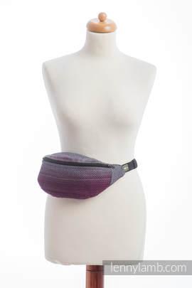 Waist Bag made of woven fabric, (100% cotton) - LITTLE HERRINGBONE INSPIRATION