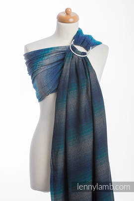 Ringsling, Herringbone Weave (100% cotton) - LITTLE HERRINGBONE ILLUSION