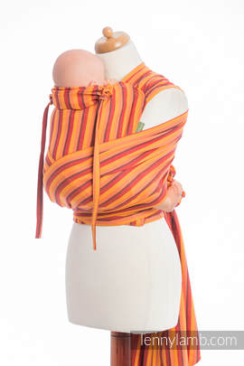 WRAP-TAI carrier Toddler, diamond weave - 100% cotton - with hood, SURYA DIAMOND