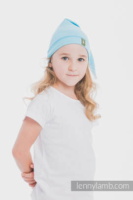 Elf Baby Hat (100% cotton) - size S - Azure