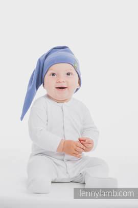 Elf Baby Hat (100% cotton) - size S - Lapis Lazuli