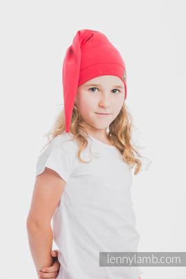 Elf Baby Hat (100% cotton) - size XL - Ruby (grade B)
