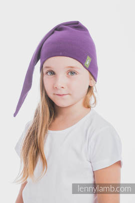 Elf Baby Hat (100% cotton) - size L - Sugilite