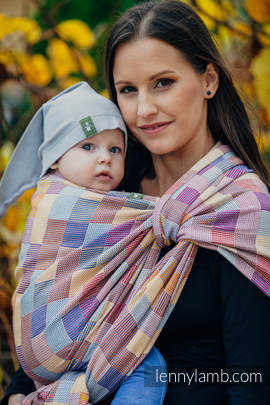 Baby Wrap, Crackle Weave (100% cotton) - QUARTET  - size S