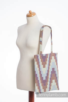Shopping bag made of wrap fabric (100% cotton) - TRIO