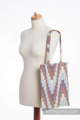Einkaufstasche, hergestellt aus gewebtem Stoff (100% Baumwolle) - TRIO