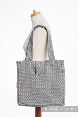Torba na ramię z materiału chustowego, (100% bawełna) - LITTLE LOVE - TAJEMNICA - uniwersalny rozmiar 37cmx37cm