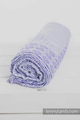 Woven Blanket (100% cotton) - Purple