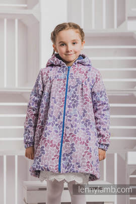 Girls Coat - size 110 - COLORS of FANTASY with Blue