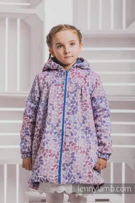 Girls Coat - size 128 - COLORS of FANTASY with Blue