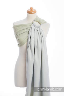 Ringsling, Herringbone Weave (100% cotton) - LITTLE HERRINGBONE OLIVE GREEN