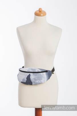 Waist Bag made of woven fabric, (100% cotton) - MOONLIGHT WOLF