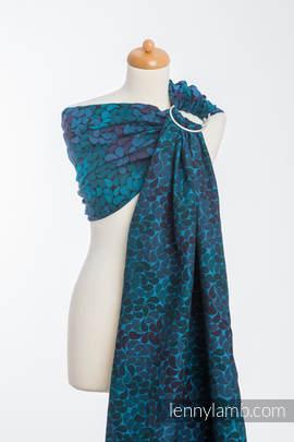 Ringsling, Jacquard Weave (100% cotton) - COLORS OF NIGHT (grade B)