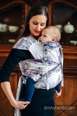 Nosidełko dla dzieci WRAP-TAI TODDLER, bawełna, splot żakardowy, z kapturkiem, GALOP