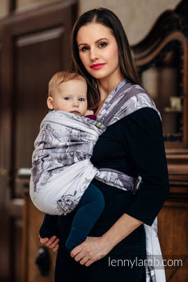 Baby Wrap, Jacquard Weave (100% cotton) - GALLOP - size S