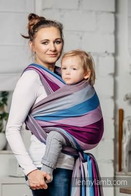 Baby Sling, Diamond Weave, 100% cotton - Norwegian Diamond - size XL (grade B)