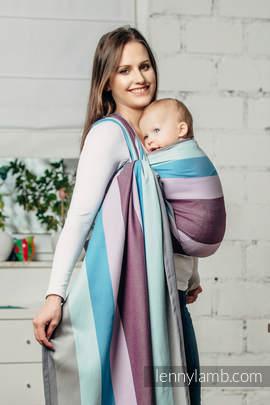 Baby Sling, Diamond Weave, 100% cotton - Icelandic Diamond - size XL (grade B)
