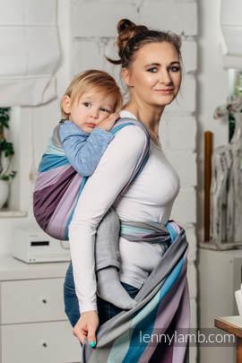Baby Sling, Diamond Weave, 100% cotton - Icelandic Diamond - size L