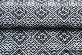 CARRE ARLETA, fabric quarters, jacquard, size 50cm x 70cm