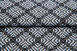 CARRE JULIET, ćwiartka tkaniny, splot żakardowy, rozmiar 50cm x 70cm