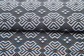 CARRE MARGO, ćwiartka tkaniny, splot żakardowy, rozmiar 50cm x 70cm