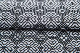 CARRE MARGO, fabric quarters, jacquard, size 50cm x 70cm