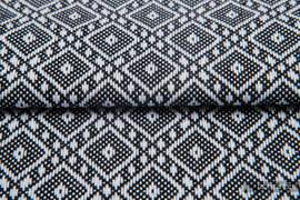 CARRE OLYMPIA, fabric quarters, jacquard, size 50cm x 70cm