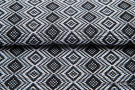 CARRE OPHELIA, fabric quarters, jacquard, size 50cm x 70cm